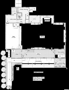 The Saturday Club Clubhouse Floorplan