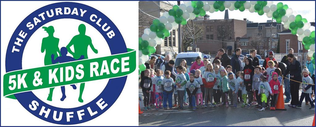 The Saturday Club Shuffle 5K & Kids Race
