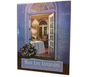 Main Line Entertains Cookbook by the Saturday Club