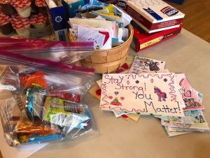 Members Create More than 550 Blessing Bags for Philadelphia's Homeless