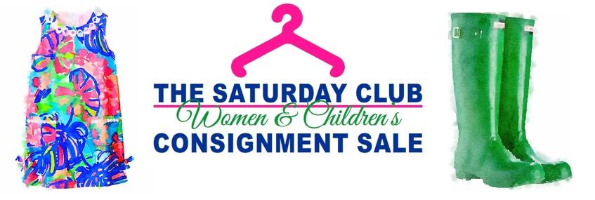 The Saturday Club Women & Children's Consignment Sale