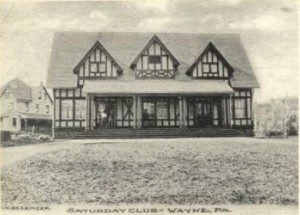 The Saturday Club Clubhouse, 1898