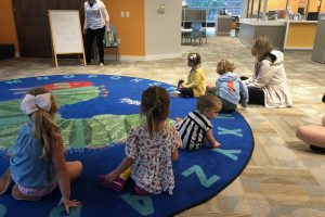 The Saturday Club Kids Kick Off Year with Radnor Library Event