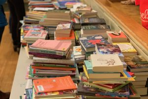 The Saturday Club Collects Books, Holds Barcoding Event for WePAC