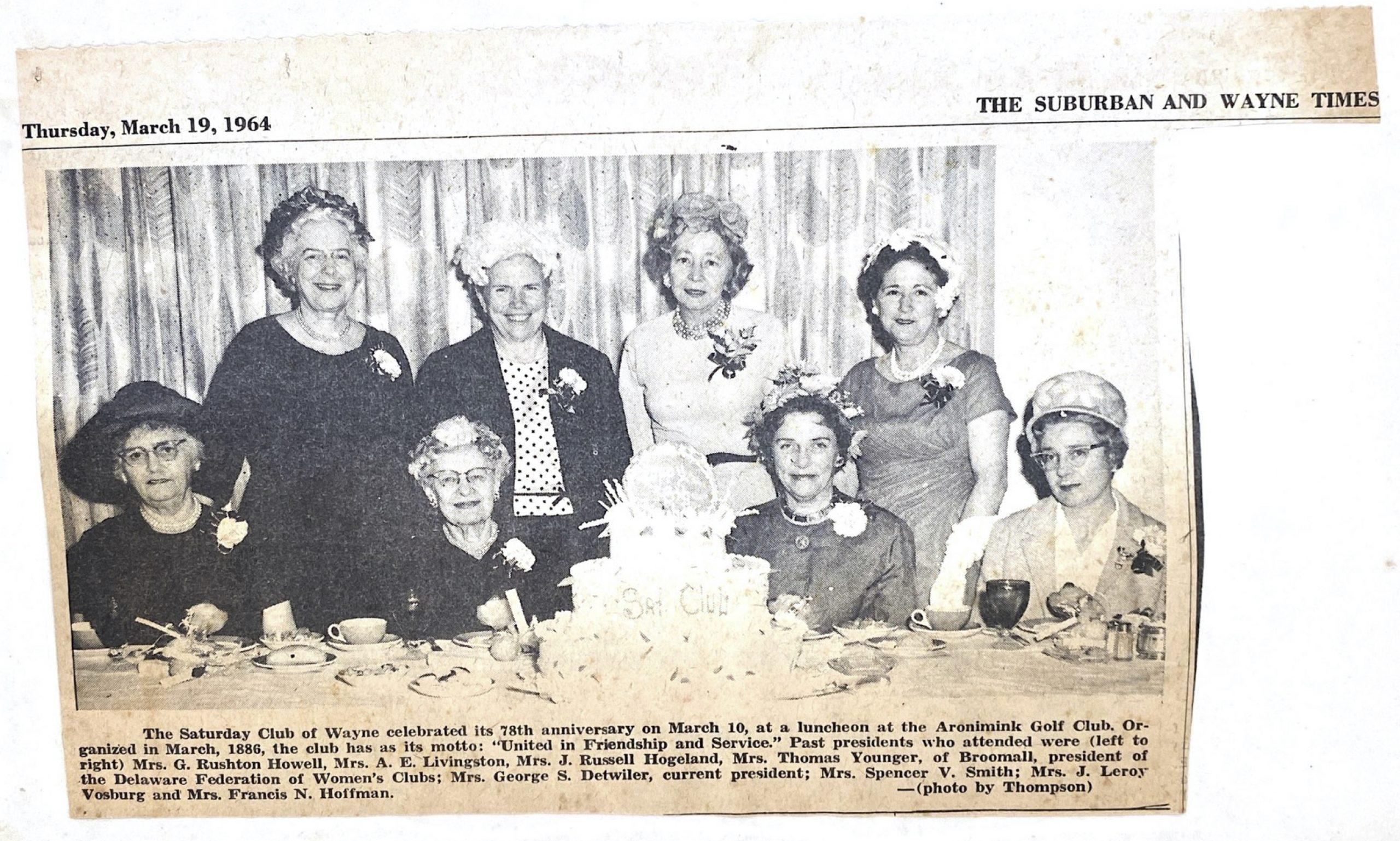The Saturday Club 1964.5